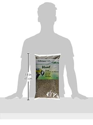 Erdtmanns Hemp Seeds, 2.5 Kg from Christoph & Franz Erdtmann OHG