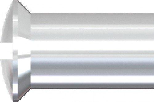 Unimet Hülsenmuttern, 100 Stück, silber, UM732594