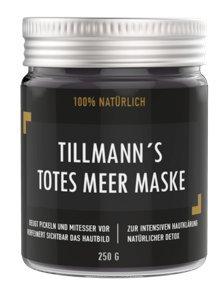 Totes Meer Schlamm Gesichtsmaske | Pflege für trockene und unreine Haut | Reinigung bei Pickel – Mitesser – Akne | Anti-Aging Maske | 250 g von Mother Nature