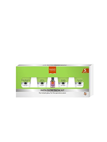 VLCC Insta Glow Facial Kit, 210g  available at amazon for Rs.400