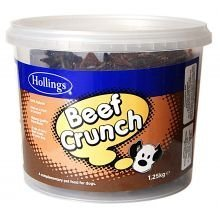 Hollings Beef Crunch Tub 1.25kg by Hollings