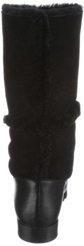 CAFéNOIR LF708, Bottes femme Noir-TR-H4-43