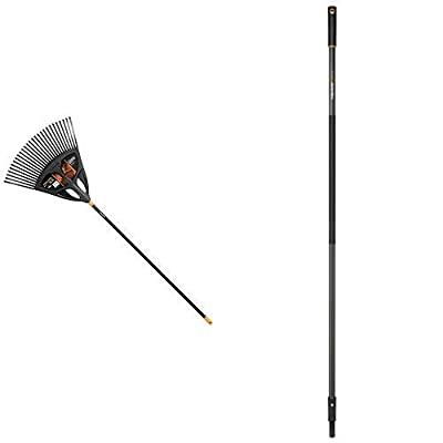 Fiskars Laubbesen, 25 Zinken, Breite: 41,5 cm, Kunststoff-Zinken