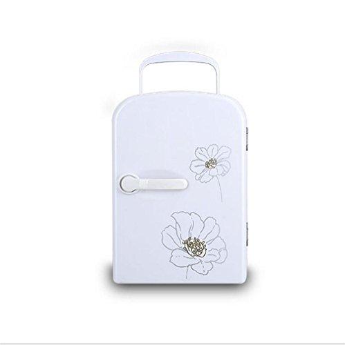 XW Auto Kühlschrank 4L Halbleiter Heiß Und Kalt Kühlschrank Auto Dual Mini Kühlschrank , White,white