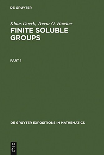 Finite Soluble Groups (De Gruyter Expositions in Mathematics Book 4) (English Edition)
