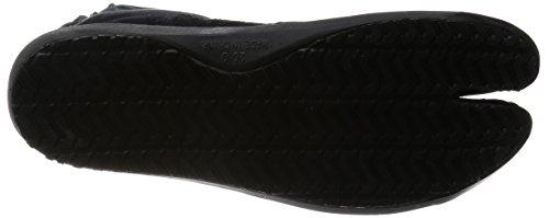 Chaussures de Ninja Air Semi-Montantes 3 Jikatabi (Air Jog) 6 Clips Importe du Japon (Marugo) Noir