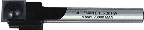 Leman 808.718.00 Mèche à rainer à 2 plaquettes en Carbure ø 18 mm queue de 8 mm