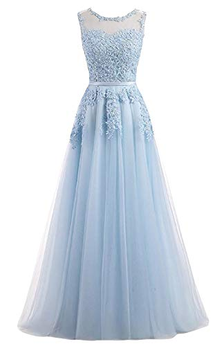 ae2940ca003 Romantic-Fashion Damen Ballkleid Abendkleid Brautkleid Lang Modell  E010-E015 Blütenapplikationen.