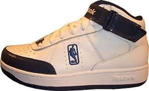 Reebok NBA 4-154399 - Scarpe Downtime Mid, numero 47, colore: bianco-blu scuro