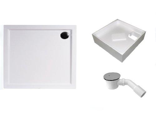 mebasa-dwset230pt-duschwannen-set-90x80x45-cm-inkl-acryl-duschwanne-duschwannentrager-87x77x14-cm-un