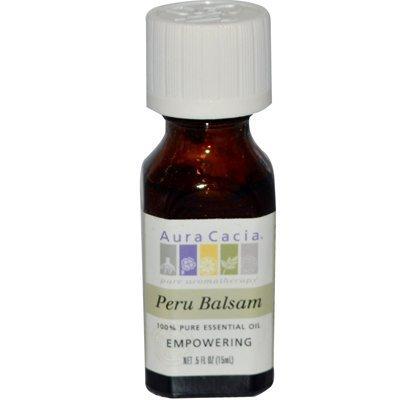 Aura Cacia Pure Essential Oil Peru Balsam - 0.5 fl oz by Aura Cacia (Balsam Oil Peru)