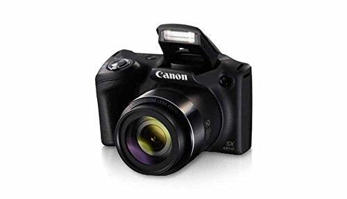 Canon PowerShot SX430B 20MP Digital Camera with 45x Optical Zoom (Black) + 16GB Memory Card + Camera Case