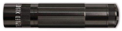 Mag-Lite XL50-S3016 LED Taschenlampe XL50,  200 Lumen, 12cm schwarz mit 3 Modi und Endkappenschalter