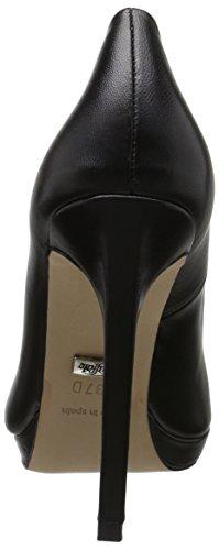 Buffalo 11695-350 Kid Leather, Escarpins Femme Noir (Black 01)