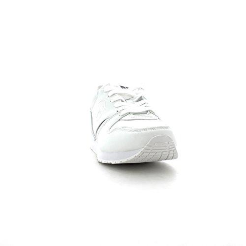 SERGIO TACCHINI Scarpe sportive uomo suola gomma con logo in vista ST723204/5 Bianco