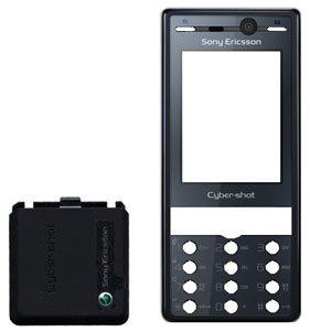Original Sony-Ericsson K810i Gehäuse 2 teilig Nobel Blue - Sonyericsson Cover Oberschale K810i -