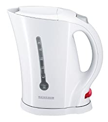 Severin WK 3482 Wasserkocher,weiß / 1,7 Liter Inhalt / 2200 W