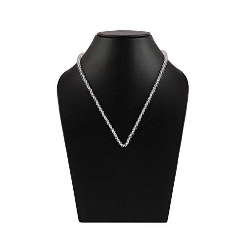 Metallic-unterstützung (Beaded Jewelry Embellishment Unterstützung für Damenschmuck 4MM)