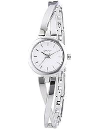 DKNY Damen-Armbanduhr XS Analog Quarz Edelstahl NY2169