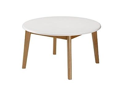 Julian Bowen Tiffany Coffee Table, White