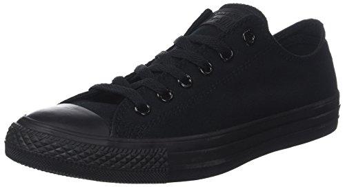 Converse Chuck Taylor All Star, Unisex - Erwachsene Sneaker, Schwarz (Monocrom), 44 EU -
