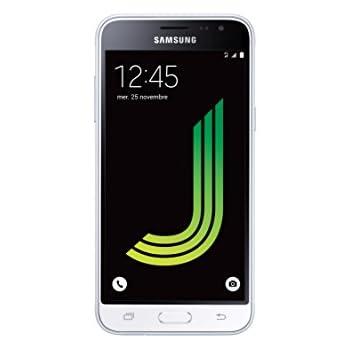 Samsung Galaxy J3Smartphone sbloccato 4G (Schermo: 5pollici–8GB–Micro-SIM–Android Lollipop 5.1)