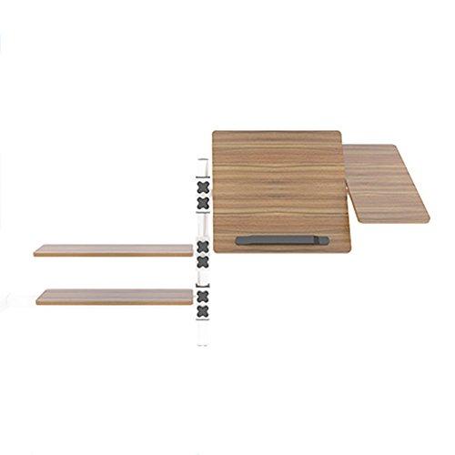 Tische Zr- Schlafsaal Zimmer Einfache Tabelle Etagenbetten Bett Multifunktions Schreibtisch \ Bücherregal Kombination Computer Schreibtisch Klapptisch Hängenden Faulen (Farbe : Eiche) (5 Bücherregal Stück)
