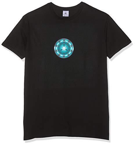 Texlab Herren Arc Reactor T-Shirt, Schwarz, M