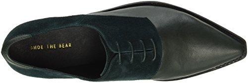 Shoe the Bear Annika, Chaussures à Lacets Femme Vert (Green)