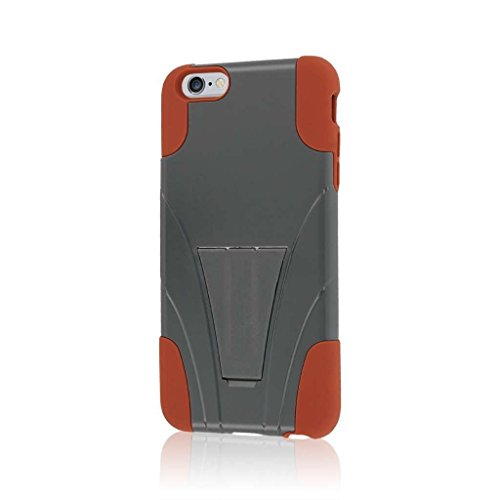 """MPERO IMPACT X Series Kickstand Case Tasche Hülle for Apple iPhone 6 Plus 5.5"""" - Coral / Mint Sandstone / Gray,IMPACT X"""