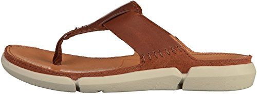 Clarks Trisand Post 26124218 hommes Tong Marron