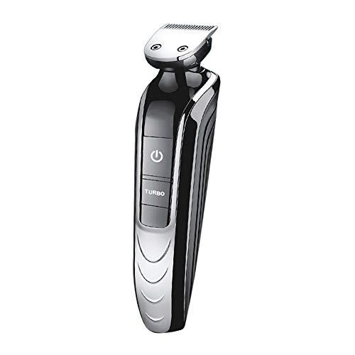 Elektrorasierer FüR MäNner Bald Had Shaver 5 In 1 Elektrorasierer-Set Cordless Hair Clippers Nasenhaarschneider Wasserdicht