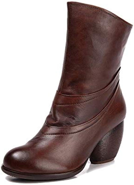 ZPEDY Chaussures pour Femmes, Rétro, Fermeture éclair, Confortable, Confortable, éclair, Portable, Antidérapant, DécontractéB07HHXD1P1Parent ac83aa