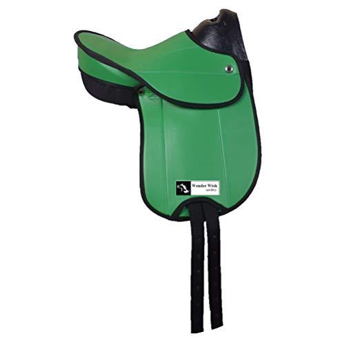 Wonder Wish - Sillín sintético para Pony, tamaño: Asiento Disponible de 12...