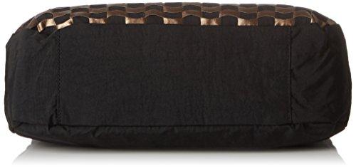 Kipling Caralisa, Sacs Portés Main Femme, 34x25x11 cm Multicolore (H96 Woven Tobacco)
