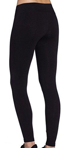iLoveSIA® Femme Leggings de sport pantalons Noir legging