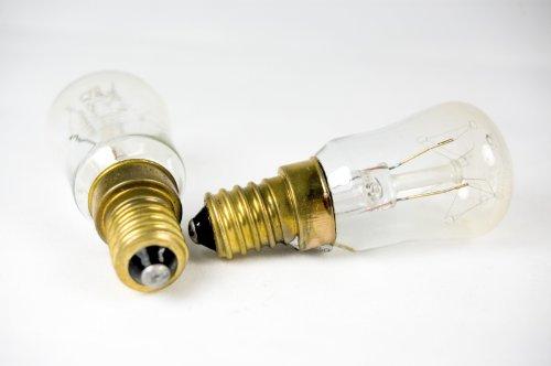 Pack von Zwei E1425Watt High Temp Ofen Lampe-MSC. 807T -
