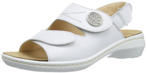 Think Camilla, Sandali donna, Bianco (Weiß (WEISS-93)), 37 EU (4.5 Damen UK)