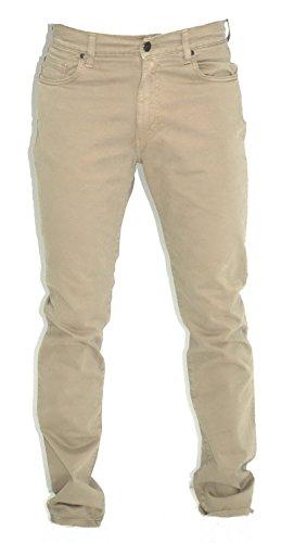 HOLIDAY MOD. Panama Pantaloni Cotone Uomo Elasticizzati Made Italy ITA 46 60 Regular Fit