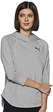 Puma Kadın Active Hoody Light Gray Heather Sweatshirt