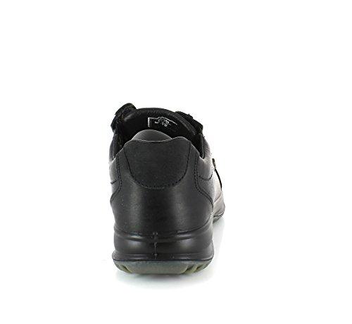 Schladminger Wanderschuh Gesundheitsschuhe mit Luftpolstersohle + Wasserdicht Schwarz