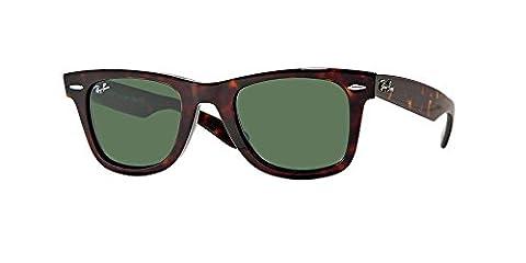 CLASSIC WAYFARER Ray-Ban Classic Series Regular 50mm Lens Frame Tortoise Lens Green Classic G-15