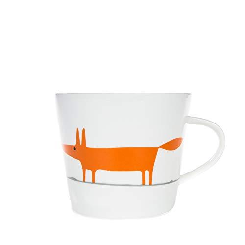 Scion SC-0259 Mug, 0.35 liters, Orange and Ceramic