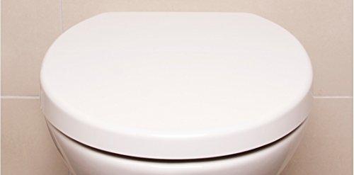 WC Sitz weiß Bullseat 2.1 Design • Absenkautomatik / Softclose • abnehmbar • easyclean • Toilettendeckel • Klobrille • hochwertiges Duroplast