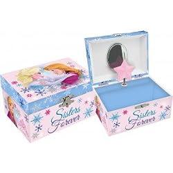 Kids Euroswan - Frozen WD16232 musical Jeweler square box