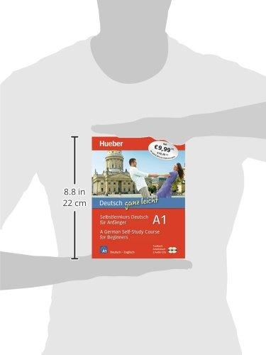 Deutsch ganz leicht A1: Selbstlernkurs Deutsch für Anfänger ― A German Self-Study Course for Beginners / Paket: Textbuch + Arbeitsbuch + 2 Audio-CDs (... ganz leicht Deutsch A1) - 3