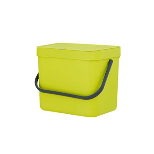 SHENG Tragbarer Aufbewahrungsbehälter Aus Kunststoff Für Die Wandmontage (Farbe : Green)