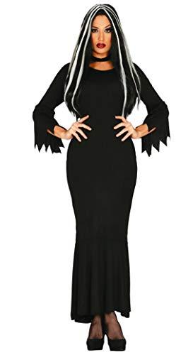 Schwarze Frau Kleid Kostüm der Dunkelheit Zombie eine Größe passt für alle