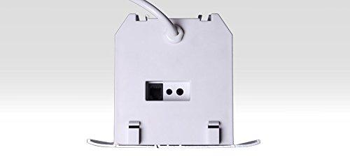 31a85M5XnVL - HiViLux para empotrar en techos hipertensión Motor lienzo UHD 4 K/3D/Full HD/ganancia 1,0 tela blanca profesional cine diapositiva/solo 13 cm instalación altura/con mando a distancia