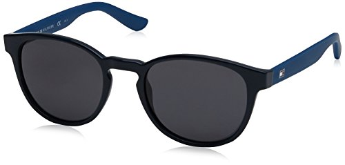 Tommy Hilfiger Unisex-Erwachsene Sonnenbrille TH 1422/S IR, Schwarz (Blue), 52 Preisvergleich